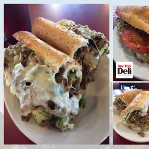 steak and cheese near prime outlets