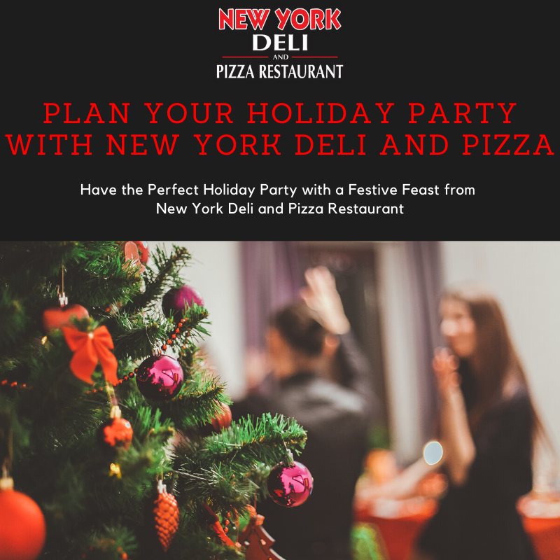 New York Deli holiday catering