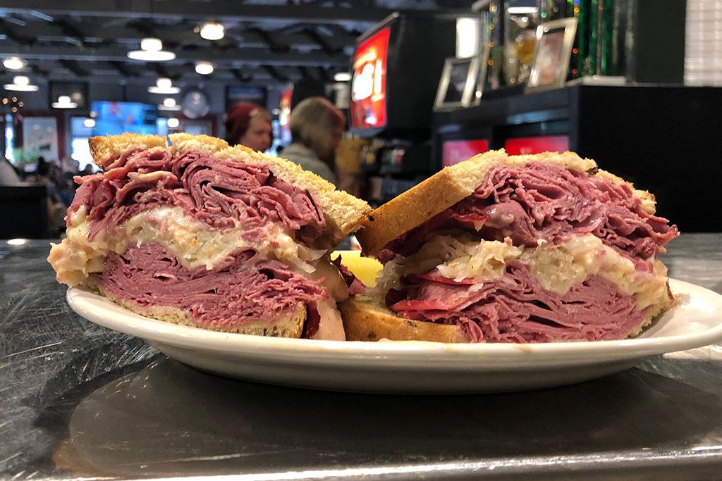 corned beef, Reuben, New York Deli, best sandwich