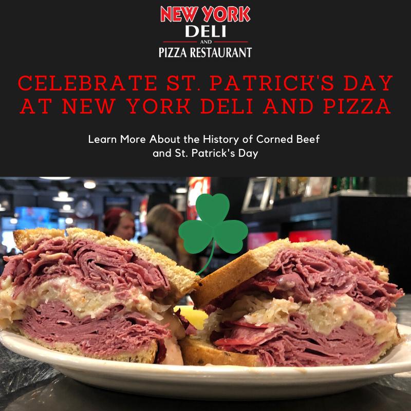 St. Patrick's Day, corned beef, Reuben, tradition, Irish, New York Deli
